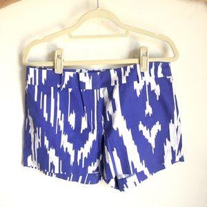 JCREW Ikat Shorts